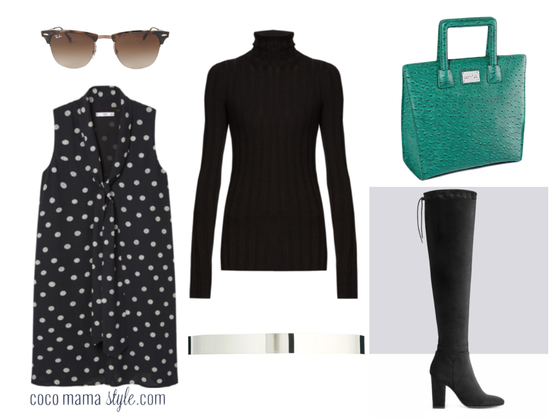 cocomamastyle | outfit of the day | ootd | house of fraser dress | mango | layering