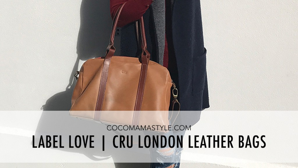Label love | Cru London leather bags