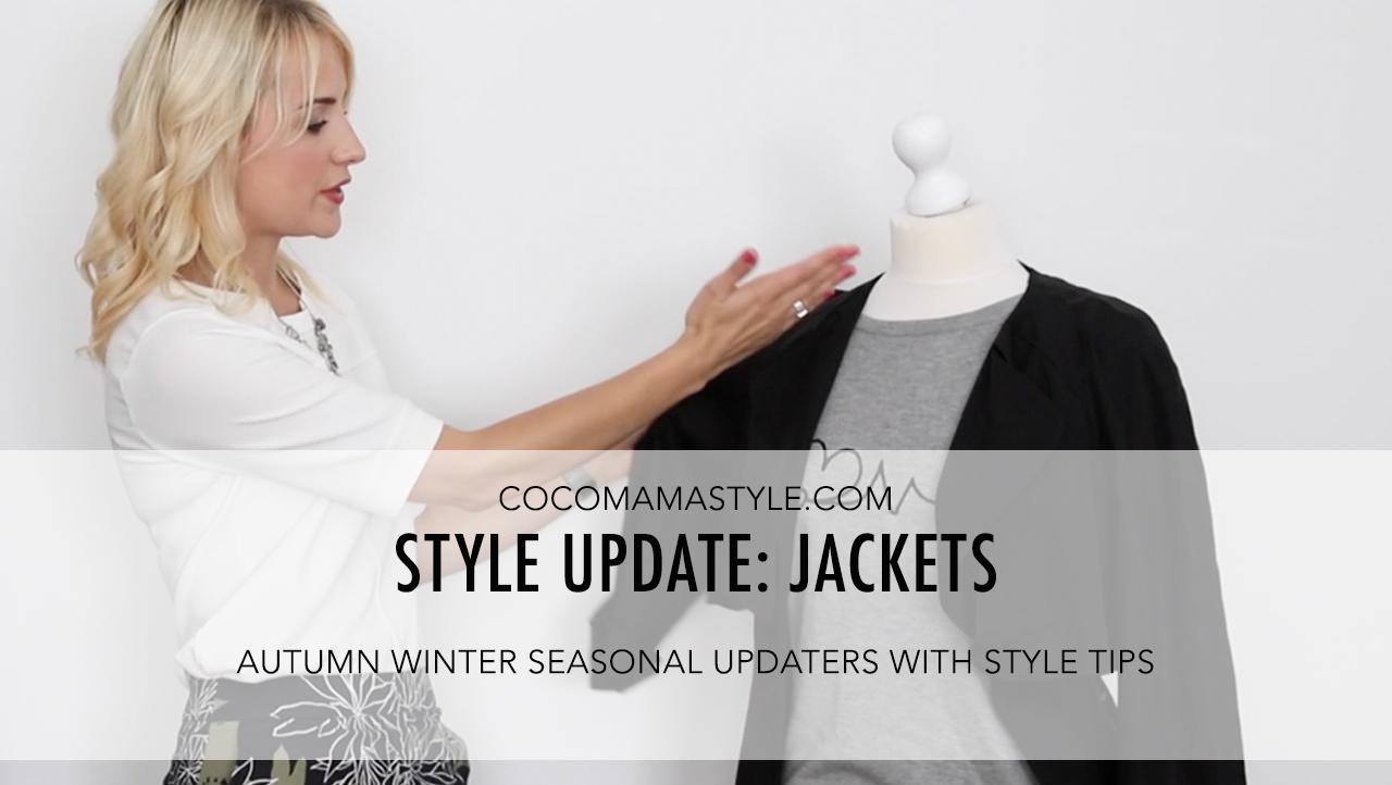 VIDEO | Style update | autumn winter | jackets