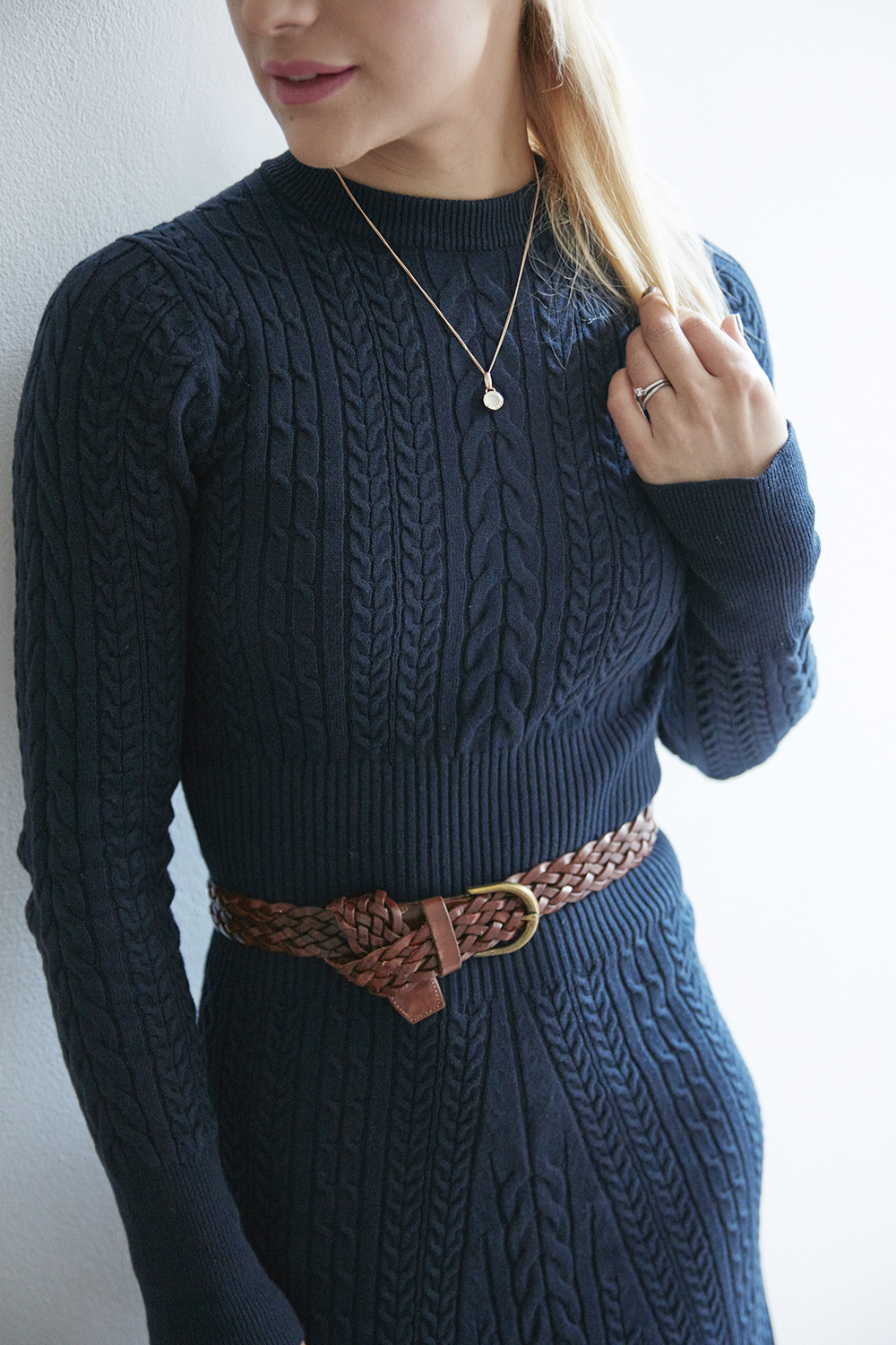 Cable knit jumper dress   Warehouse   House of Fraser   Cocomamastyle