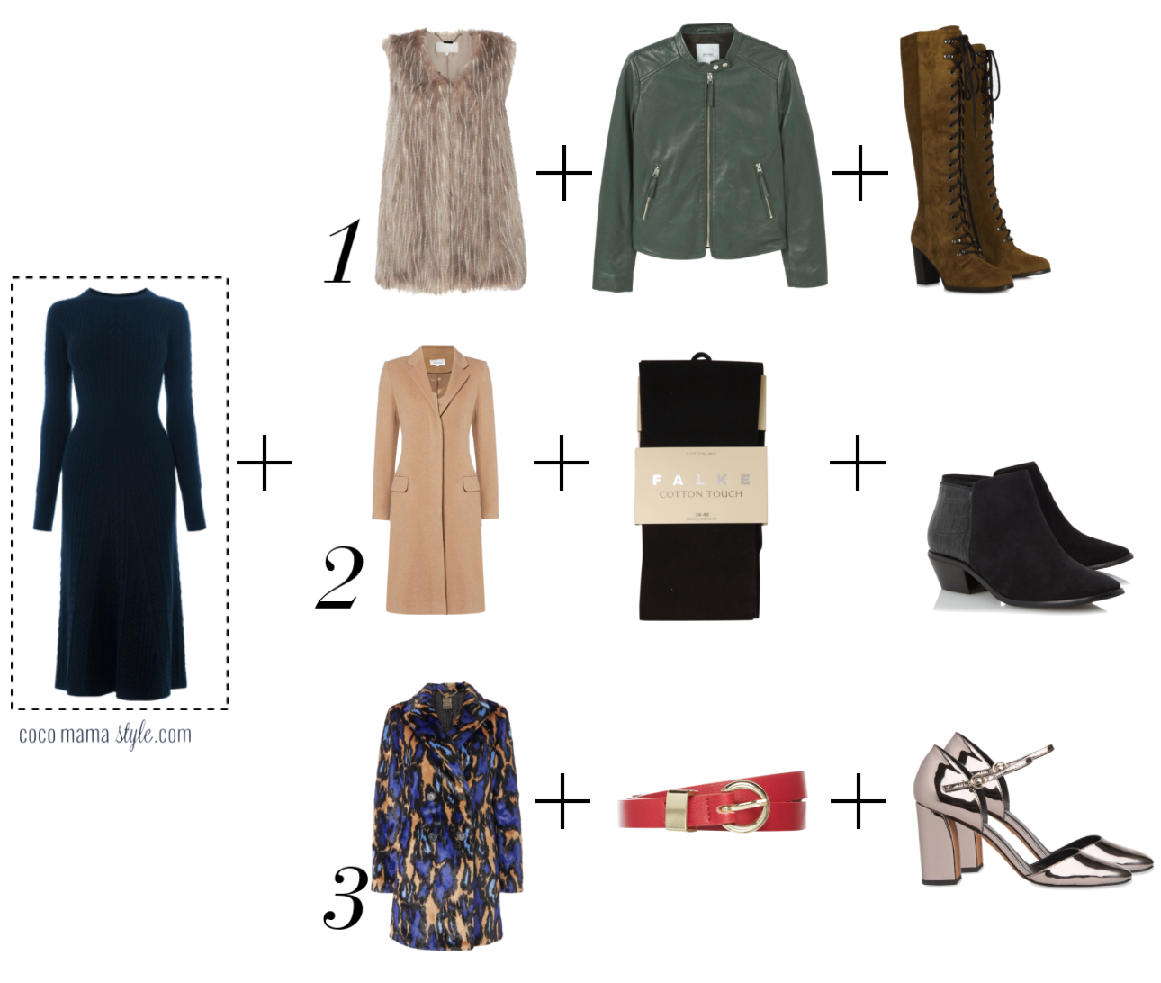 3 ways to wear: cable knit dress