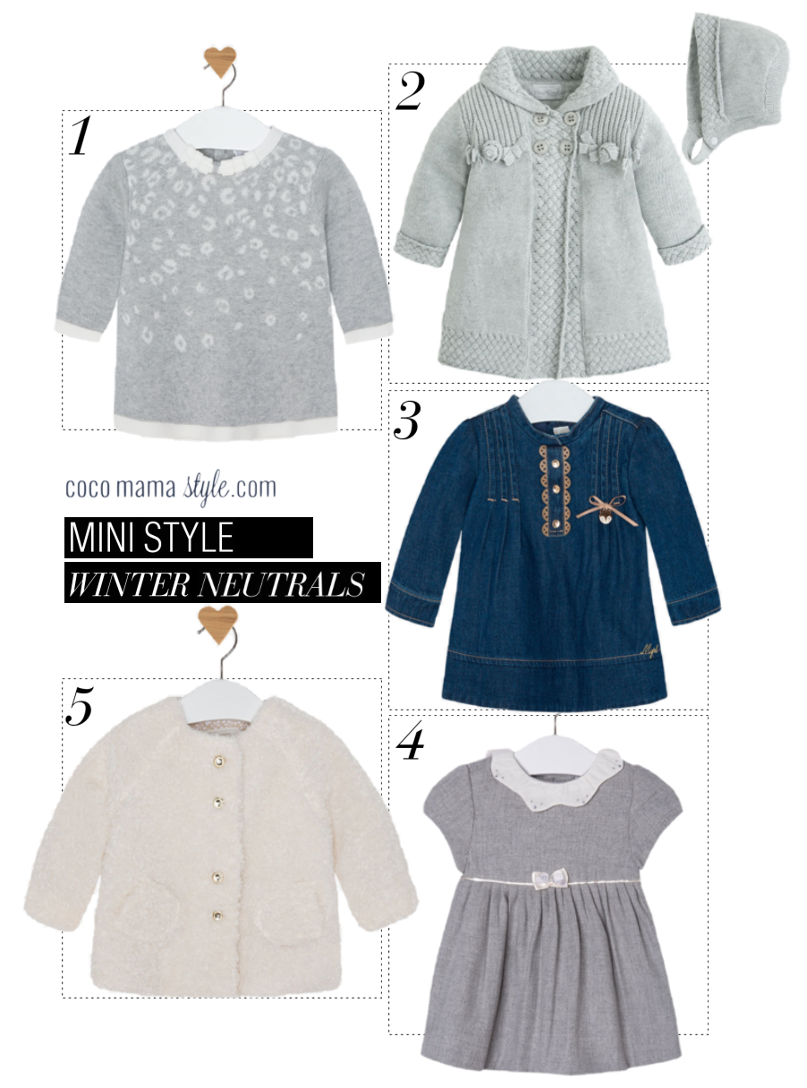 mayoral | mini style | winter neutral | cocomamastyle