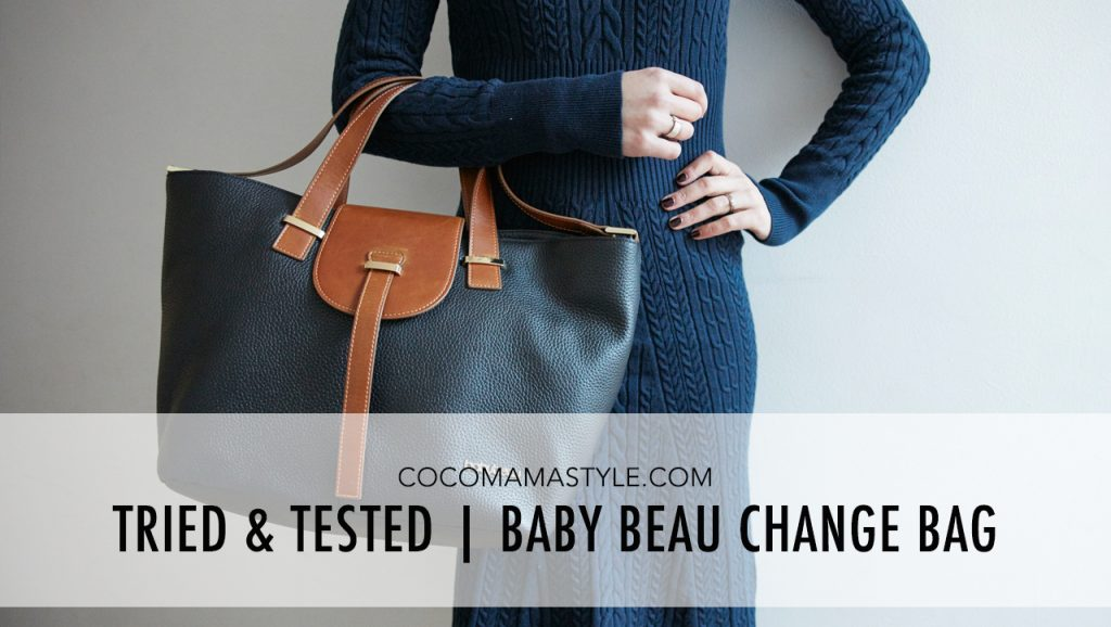 Tried & Tested | Baby Beau change bag