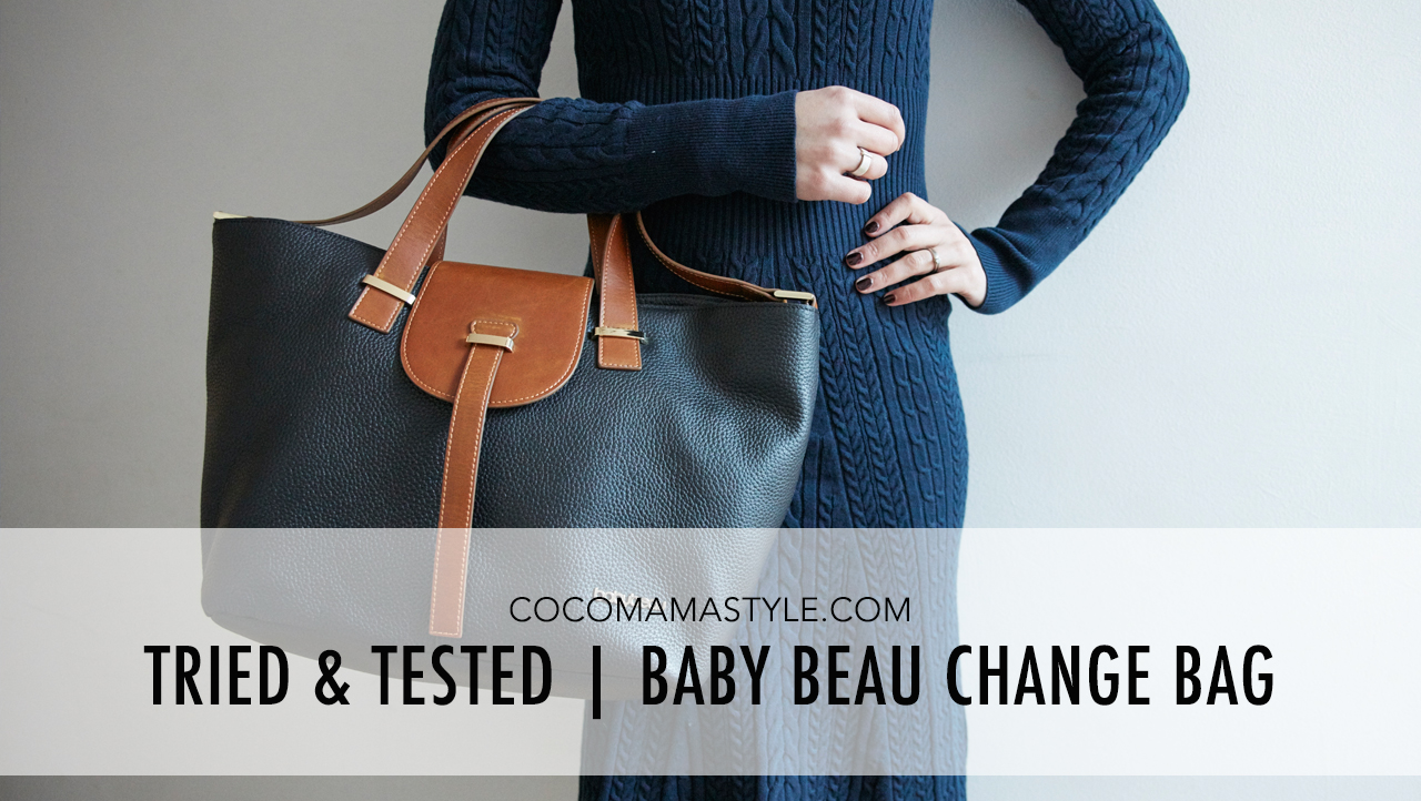 Baby Beau changing bag | cocomamastyle