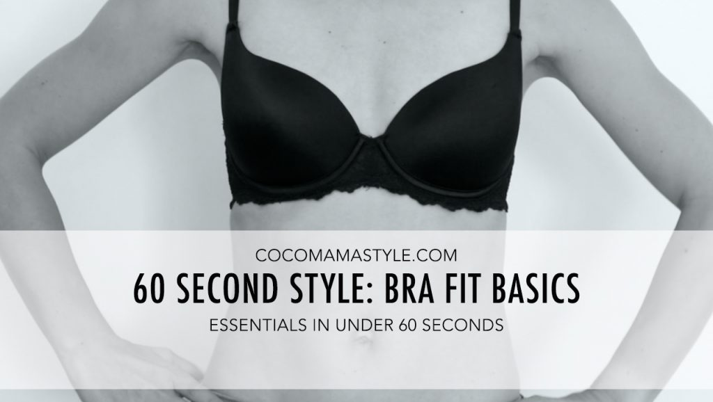 VIDEO | Bra fit basics in 60 seconds