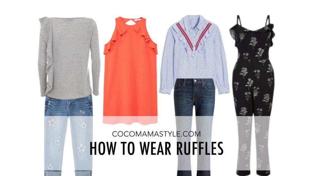 How to wear ruffles