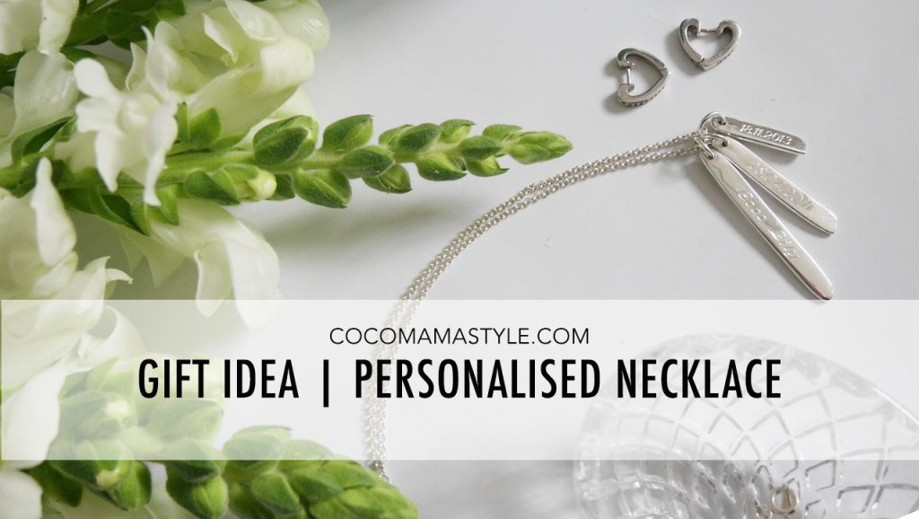 Gift idea | Personalised necklace incl. discount code