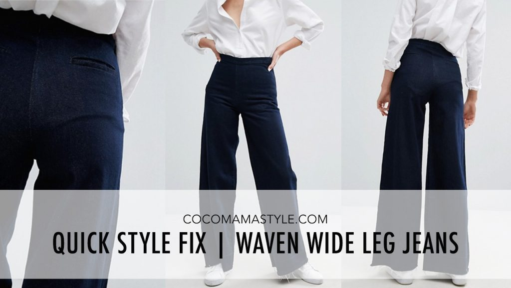 Quick Style Fix | Waven Wide Leg Jeans