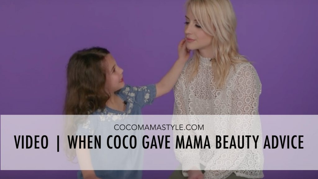 VIDEO | When Coco gave Mama beauty advice