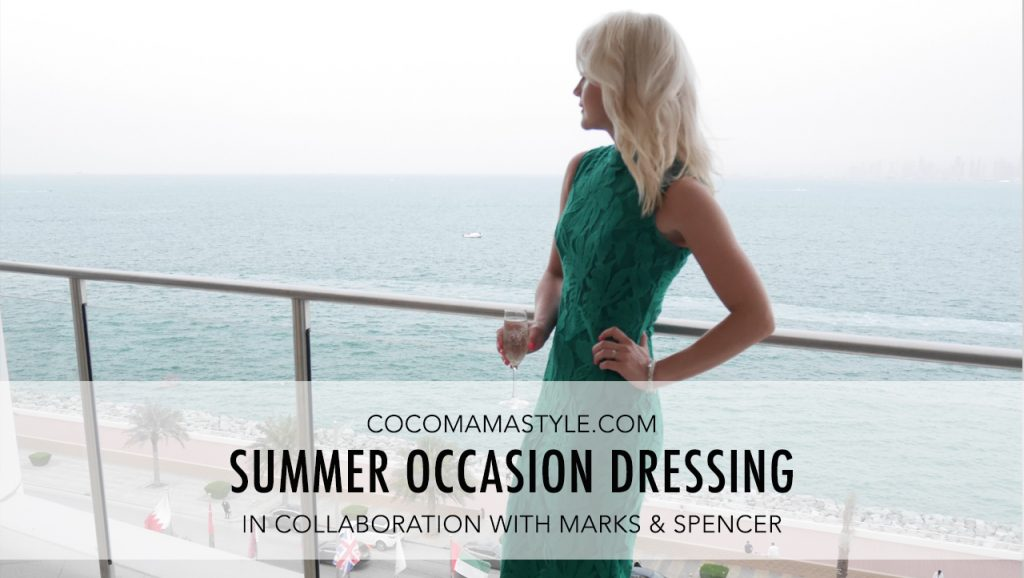 Summer Occasion Dressing with Marks & Spencer