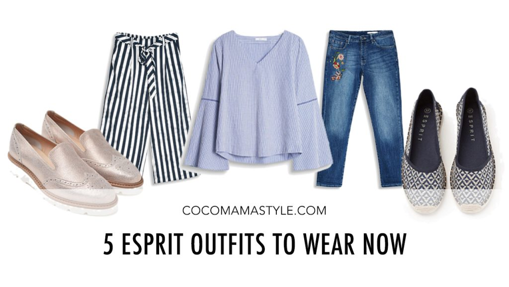 5 Esprit Outfits To Wear Now