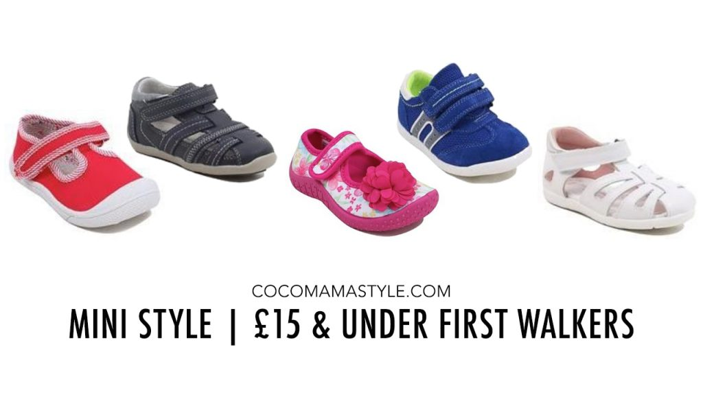 e1a6fb98b Mini Style | £15 and under First Walkers shoes