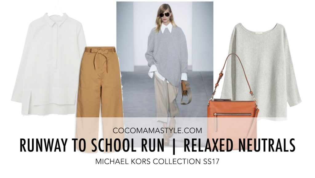 Runway to School Run | Michael Kors Relaxed Neutrals