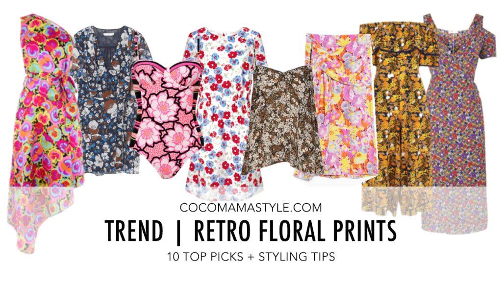 Trend | Retro floral prints