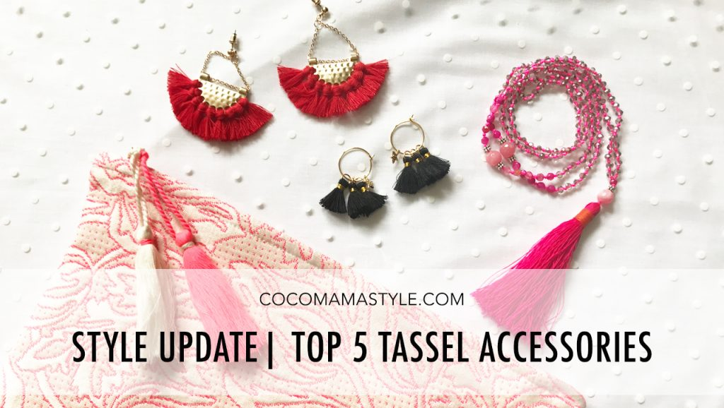 Style update | Top 5 Tassel Accessories
