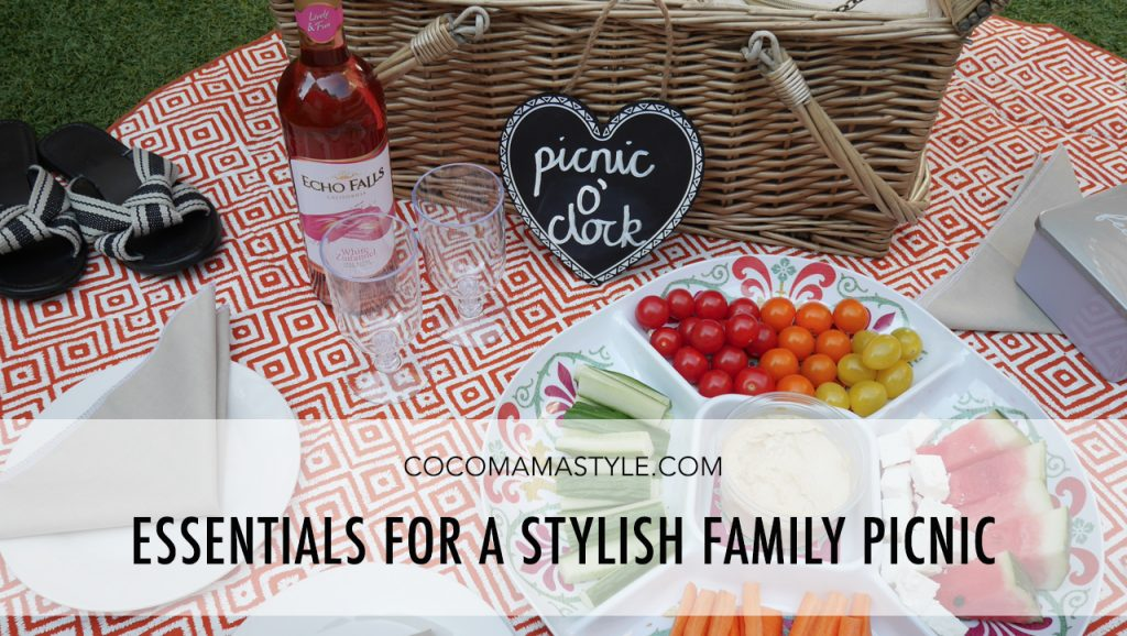 Essentials for a stylish family picnic