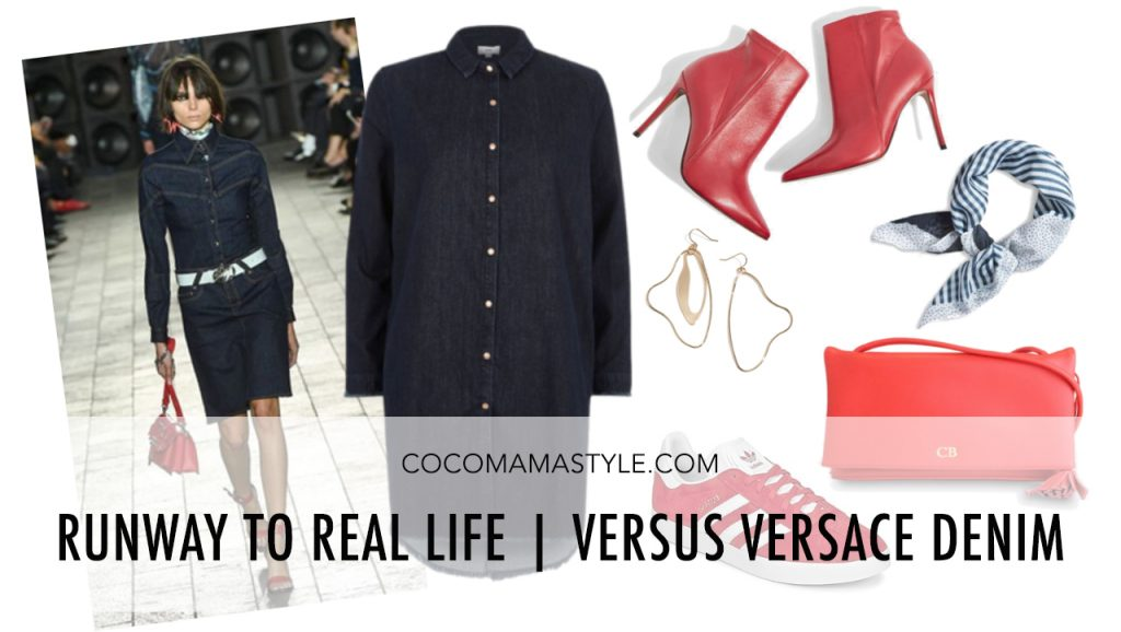 fa39e7e119dba Runway to Real Life | Versus Versace Denim