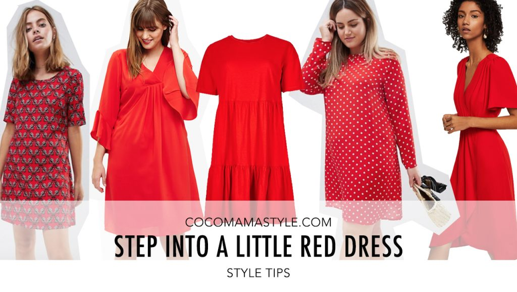 Step Into a Little Red Dress