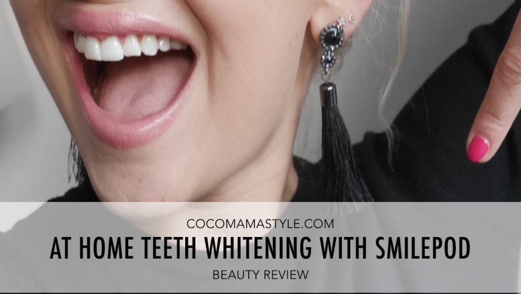 Beauty Review | At Home Teeth Whitening with Smilepod