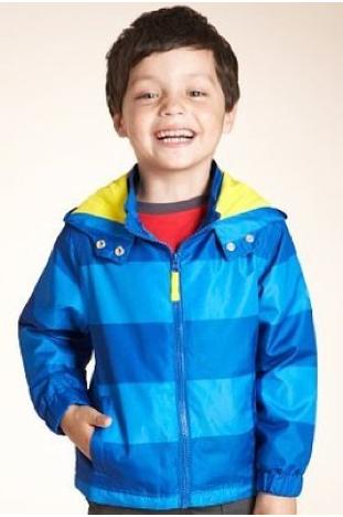 Marks and Spencer Boys rain coat with hood