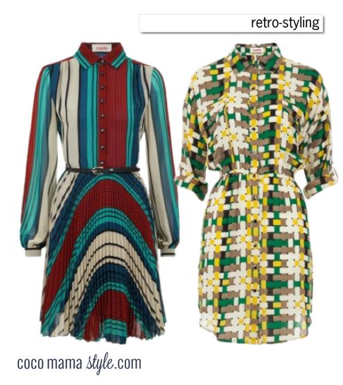nursing wear cocomamastyle retro style dresses