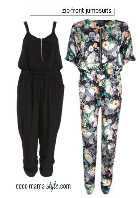 nursing wear cocomamastyle jumpsuits zip front