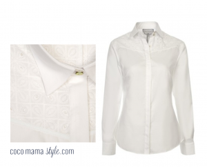 cocomamastyle hawes and curtis white shirt