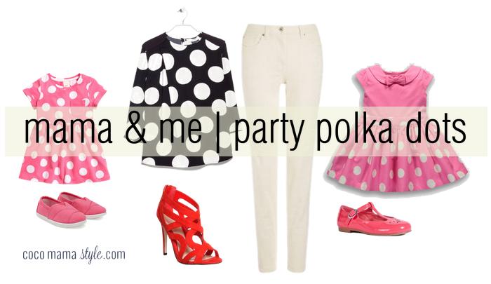 cocomamastyle - mama and me - party polka dots