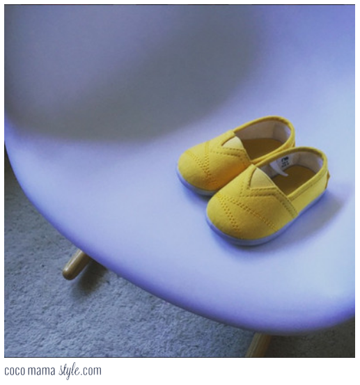 mini must have mothercare canvas plimsolls baby child yellow