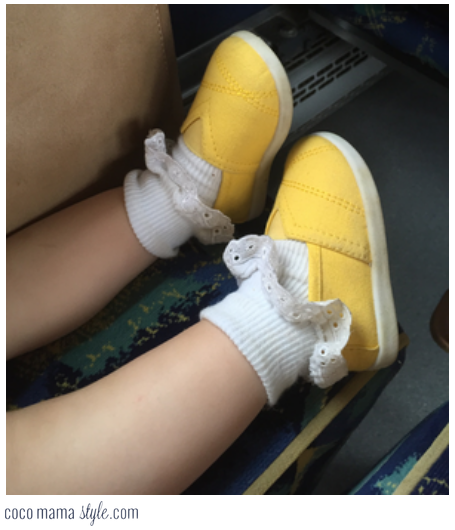 mothercare canvas plimsolls baby child yellow