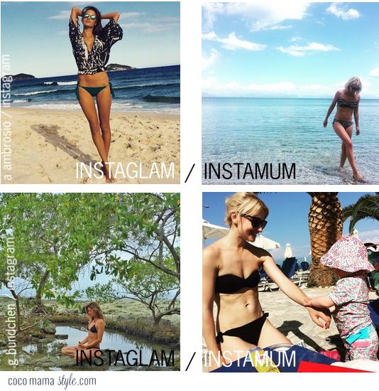 alessandra ambrosio bikini | gisele bikini | mum style | cocomamastyle