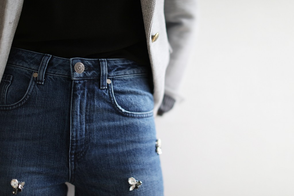 LOW cocomamastyle | denim | close up front
