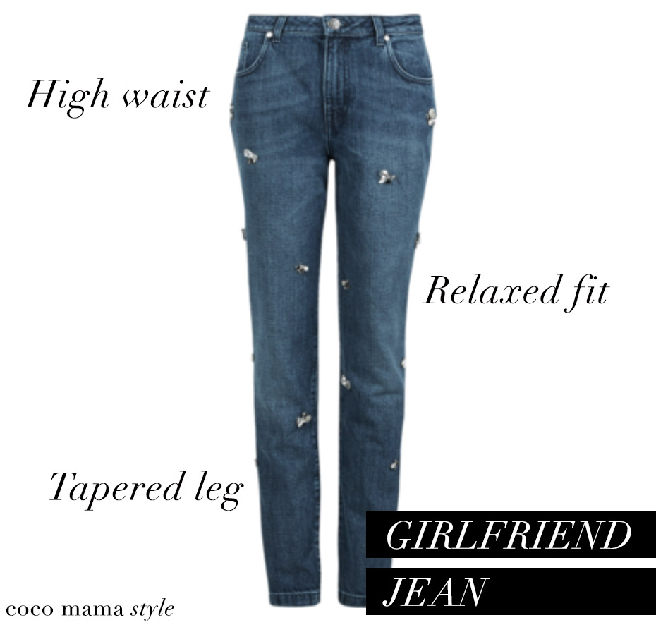 coco mama style | denim style guide | girlfriend jean