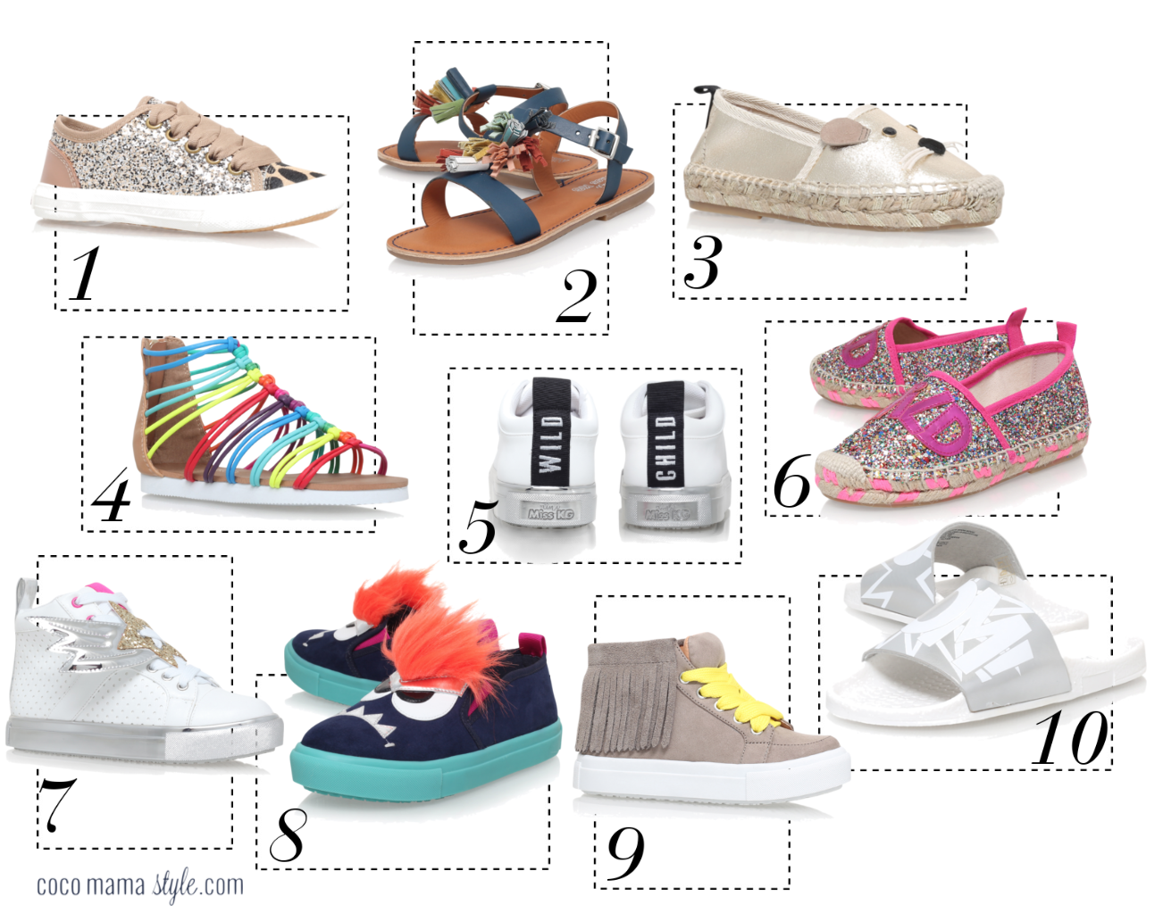 Mini must have   cocomamastyle   Mini Miss KG kids shoes