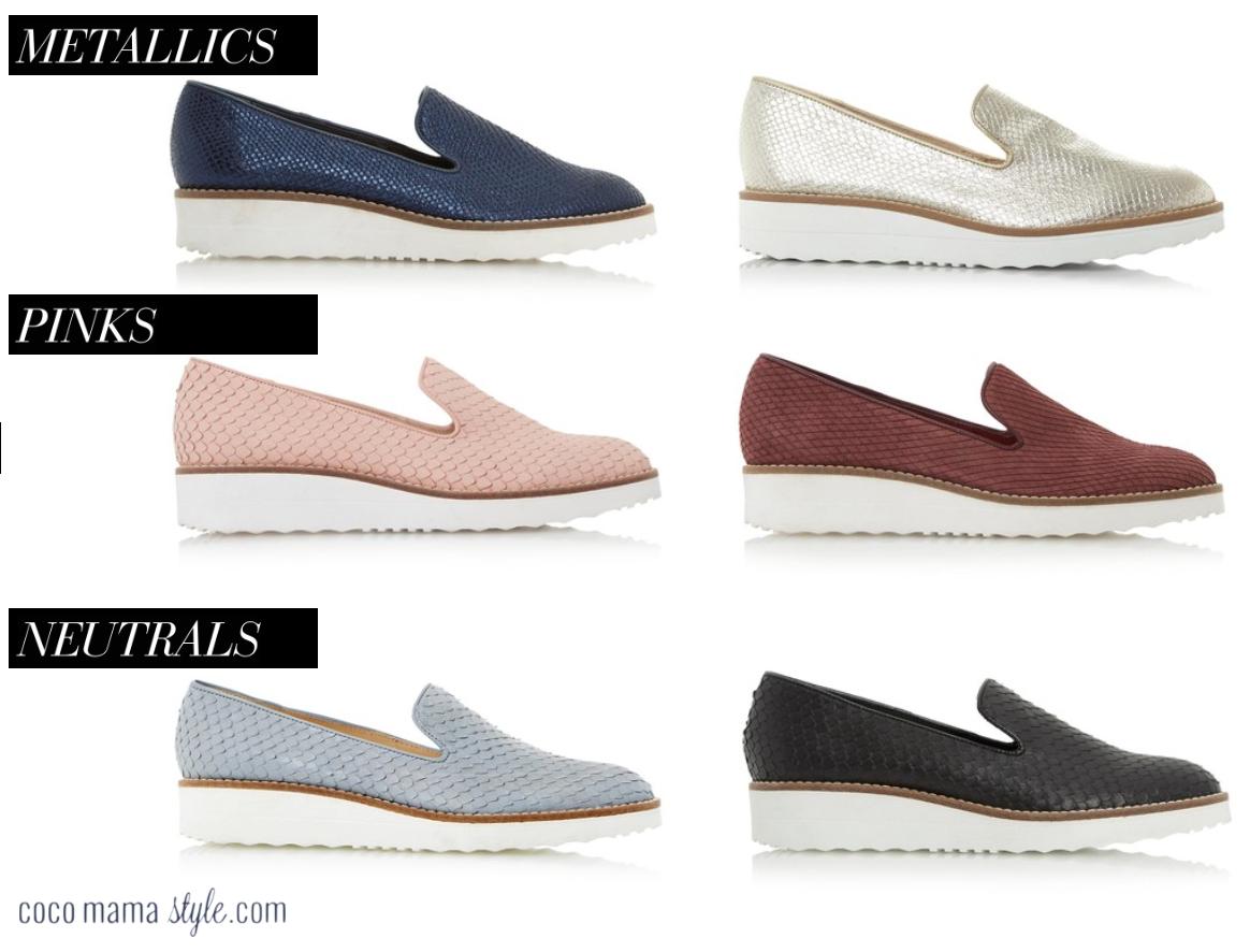Dune flatform shoes | stylish flat shoes | cocomamastyle