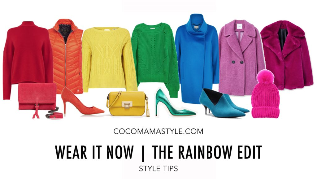 Wear it now | The Rainbow Edit