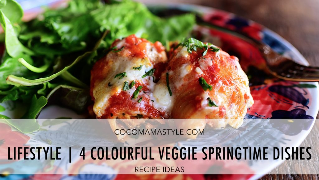 Lifestyle | 4 colourful veggie springtime dishes