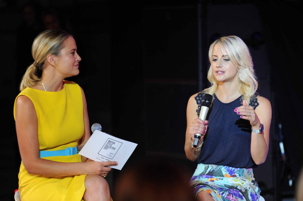 On the panel of experts at the Clothes Show, Liverpool
