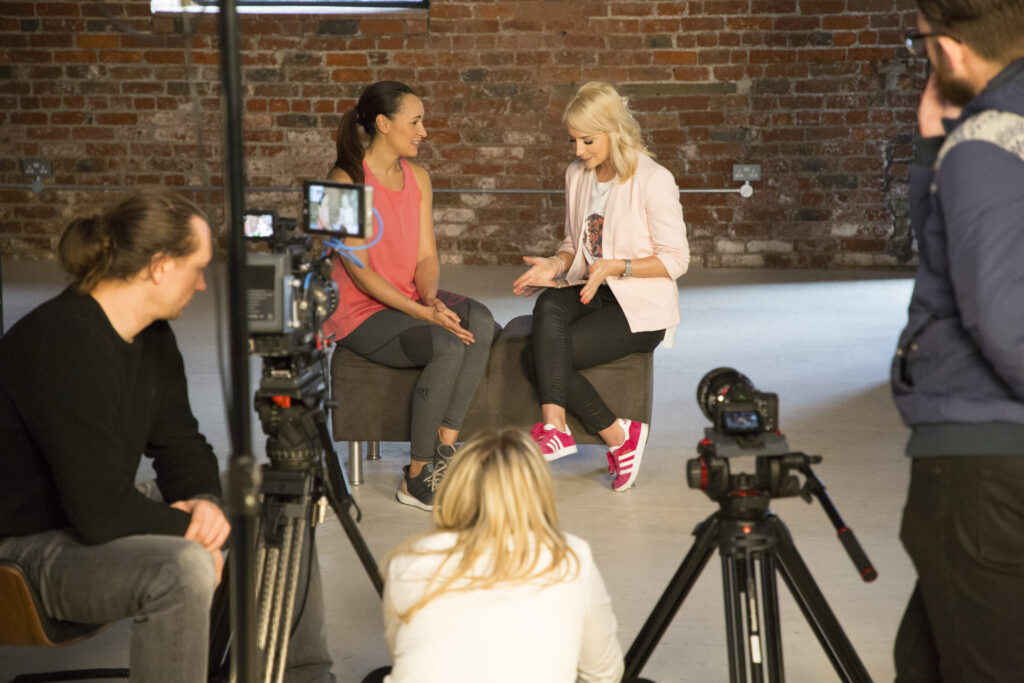 Interviewing Jessica Ennis-Hill with Vitality